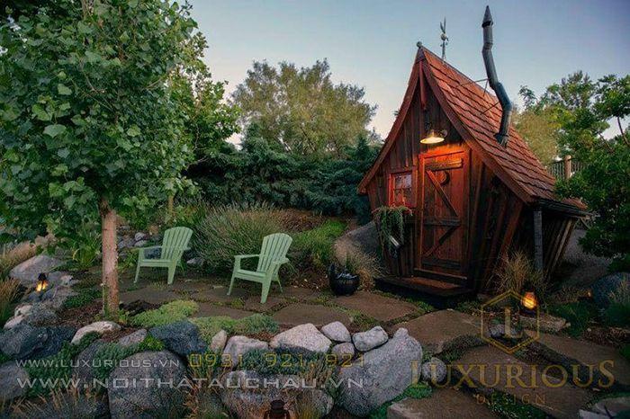 Ngôi nhà gỗ độc đáo ở Minnesota