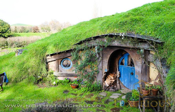 Nhà Hobbit ở Anh