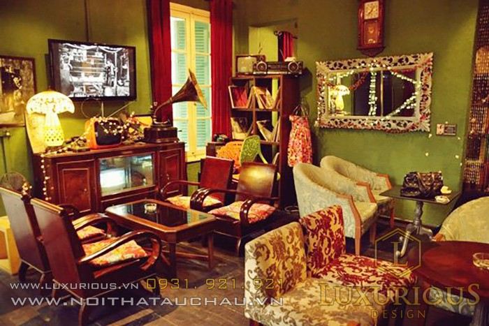 Phong cách kiến trúc nội thất retro
