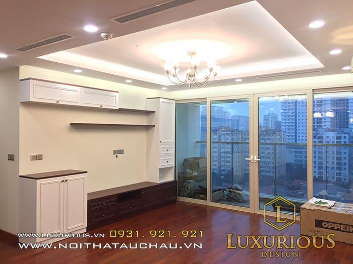 Thiết kế nội thất trọn gói tại Luxurious