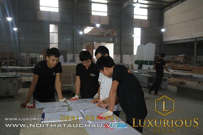 Đội ngũ kiến trúc sư Luxurious