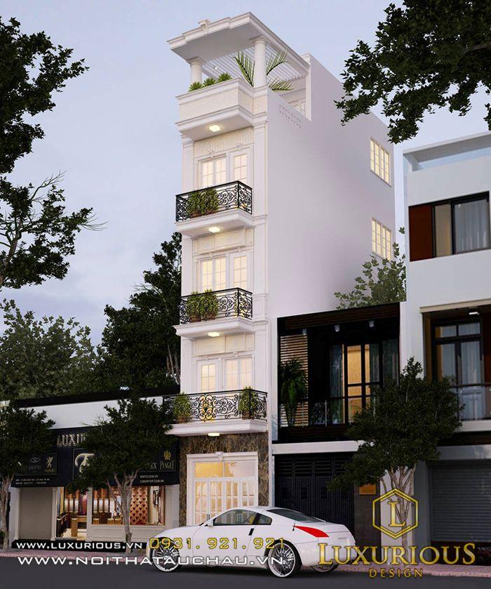 thiết kế nội thất nhà 50m2 tân cổ điển