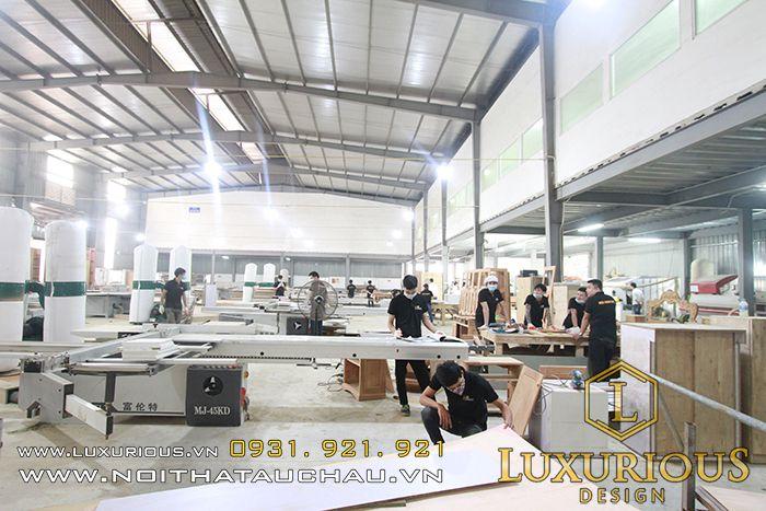 Nhà máy sản xuất gỗ 5.000m2