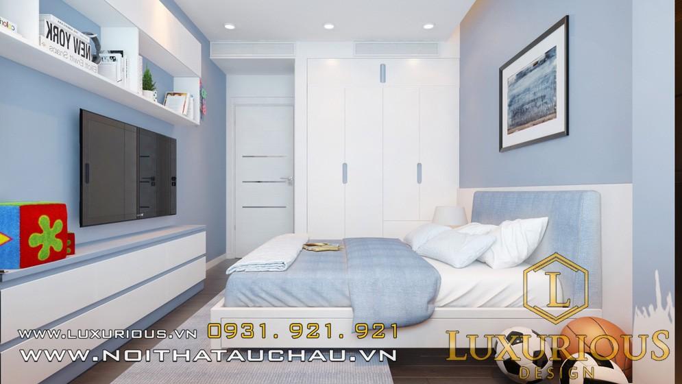 Mẫu phòng ngủ chung cư mandarin đẹp