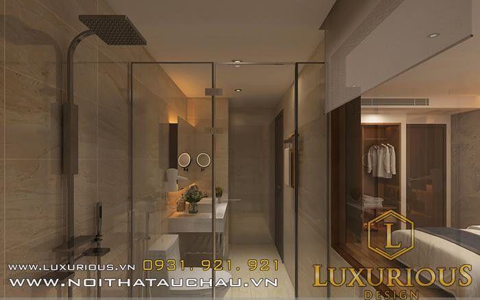 Phòng tắm khách sạn