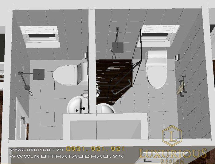 Bản vẽ phòng vệ sinh
