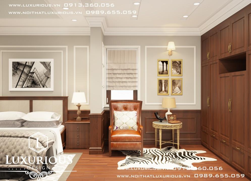 Phòng ngủ biệt thự An Hưng