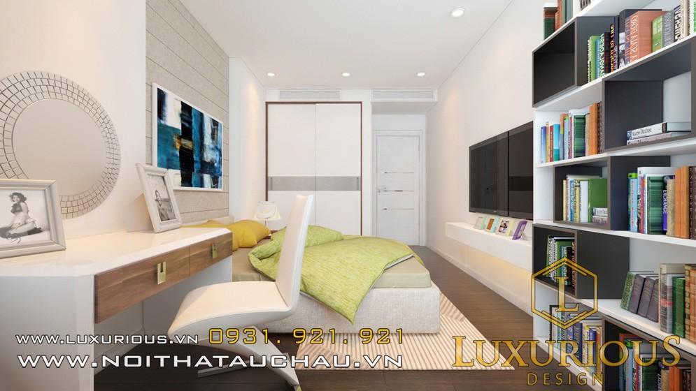 Thiết kế phòng ngủ chung cư chuyên nghiệp