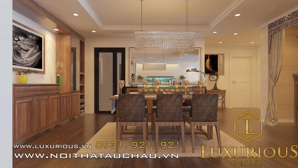 Thiết kế chung cư mandarin phòng khách