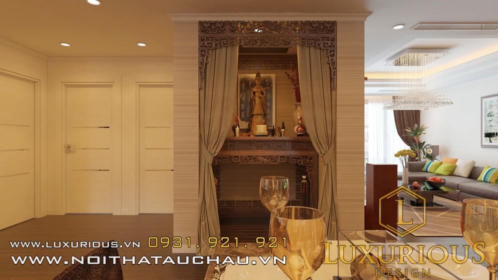 Thiết kế phòng bếp chung cư Mandarin