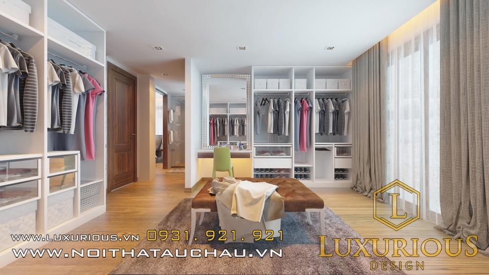 Phòng thay đồ và tủ quần áo
