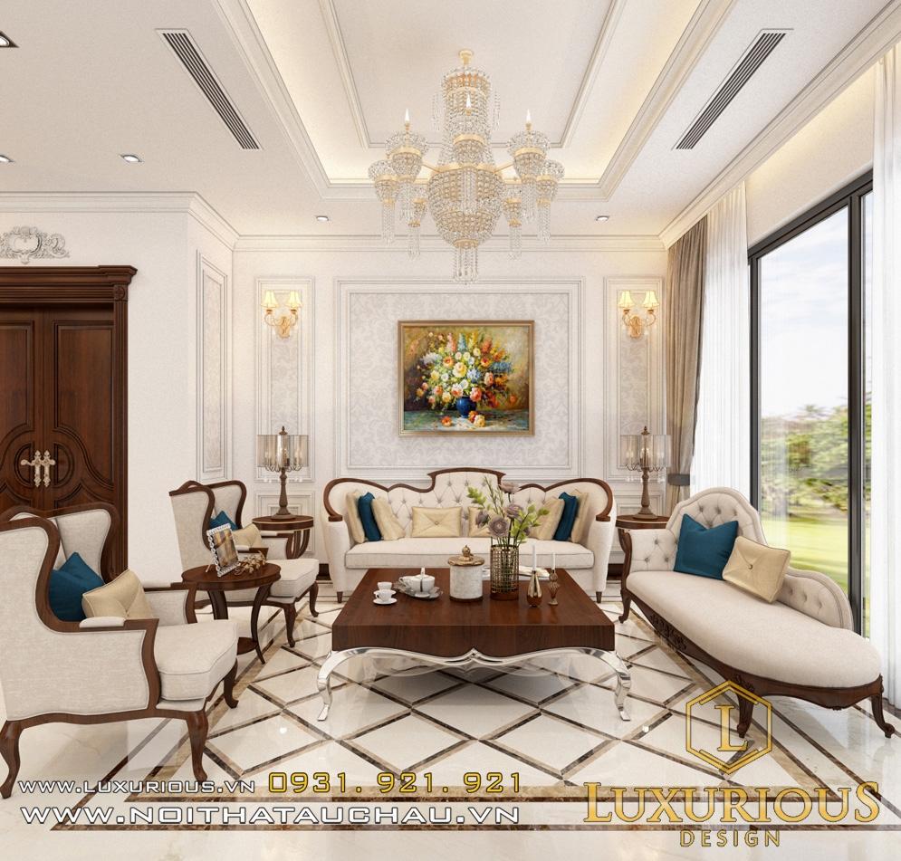 Mẫu thiết kế nội thất biệt thự ecopark chị hạnh 3