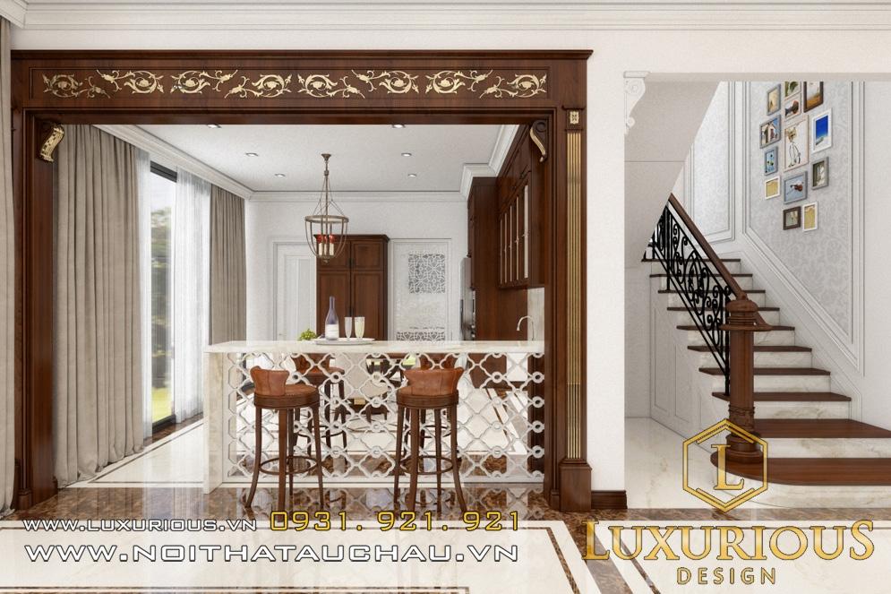 Mẫu thiết kế nội thất biệt thự ecopark