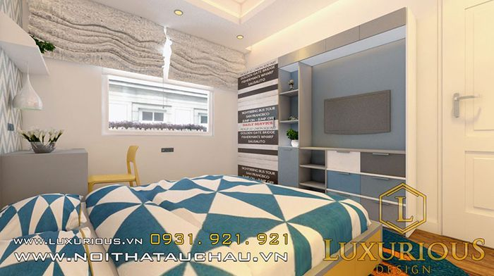 Mẫu phòng ngủ nhà 50m2