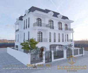 Mẫu thiết kế nội thất biệt thự vinhome Riverside Hải Phòng Chị Hương 2