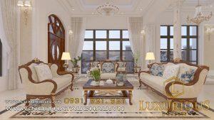Mẫu thiết kế nội thất biệt thự vinhome Riverside Hải Phòng Chị Hương 6