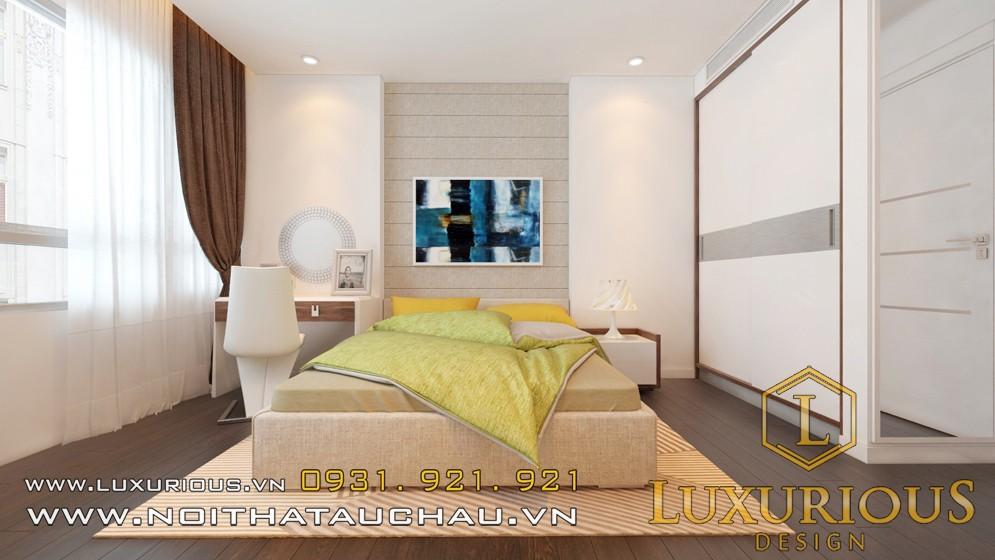 Thiết kế phong ngủ chung cư Mandarin