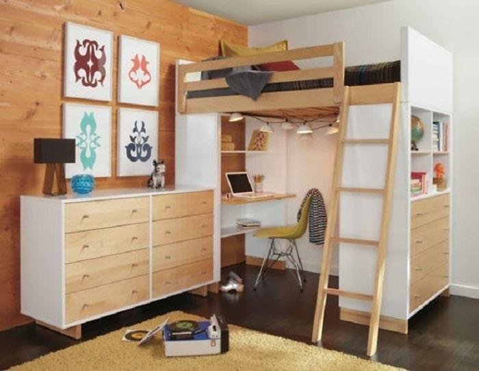 Mẫu giường tầng hiện đại cho bé