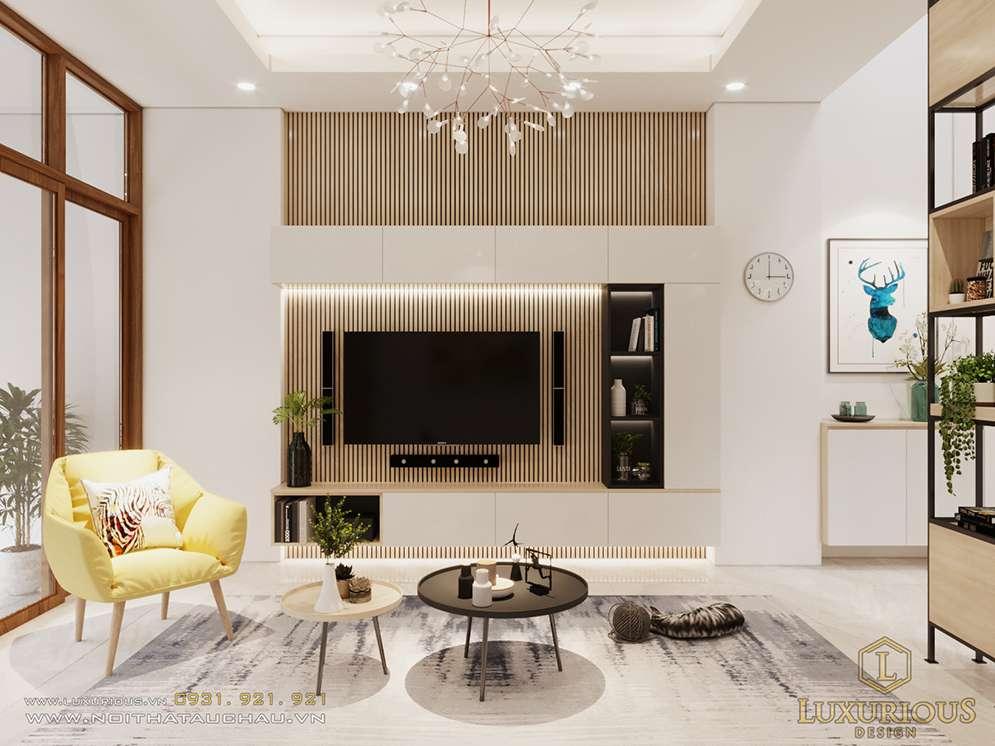 Thiết kế nội thất nhà lô phố Phú Đô tại Mỹ Đình Hà Nội