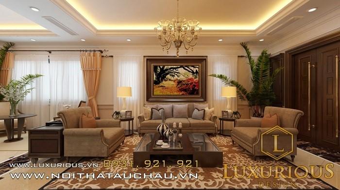Trang trí nội thất phòng khách nhà ống 4m