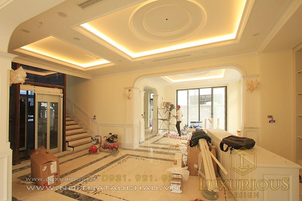 Thi công nội thất trọn gói tại Luxurious Design