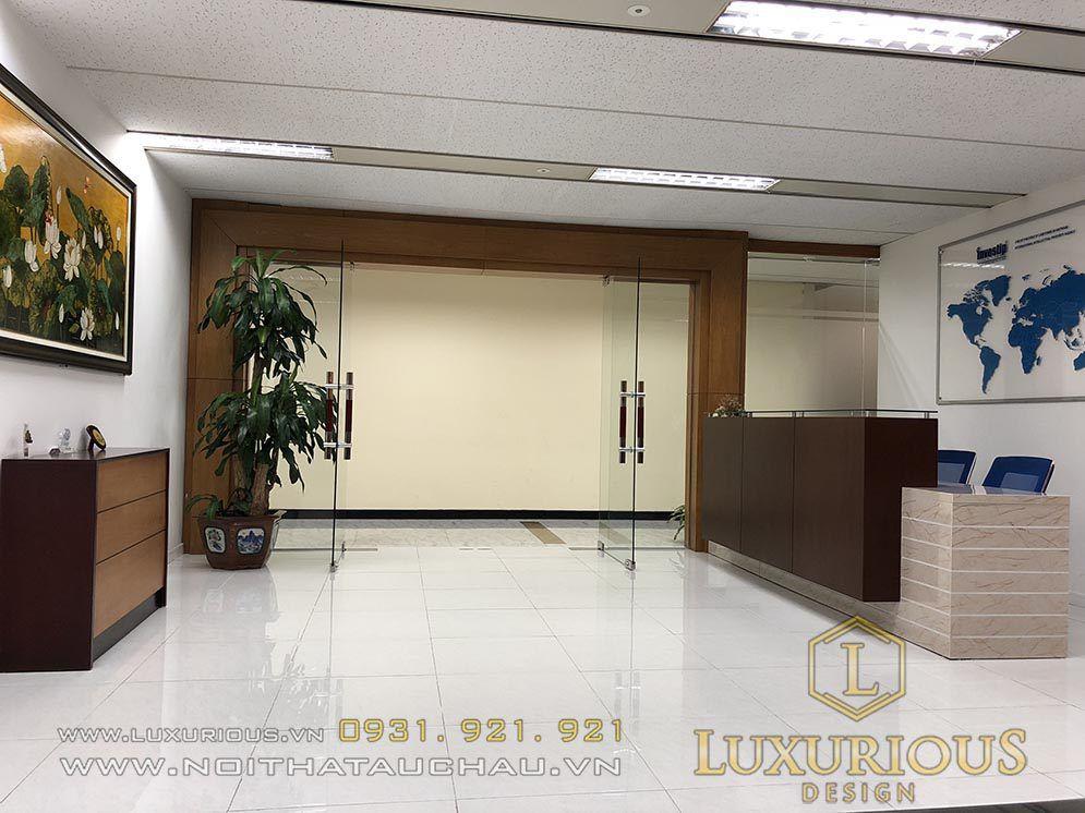 Hành lang văn phòng Investip Hà Nội