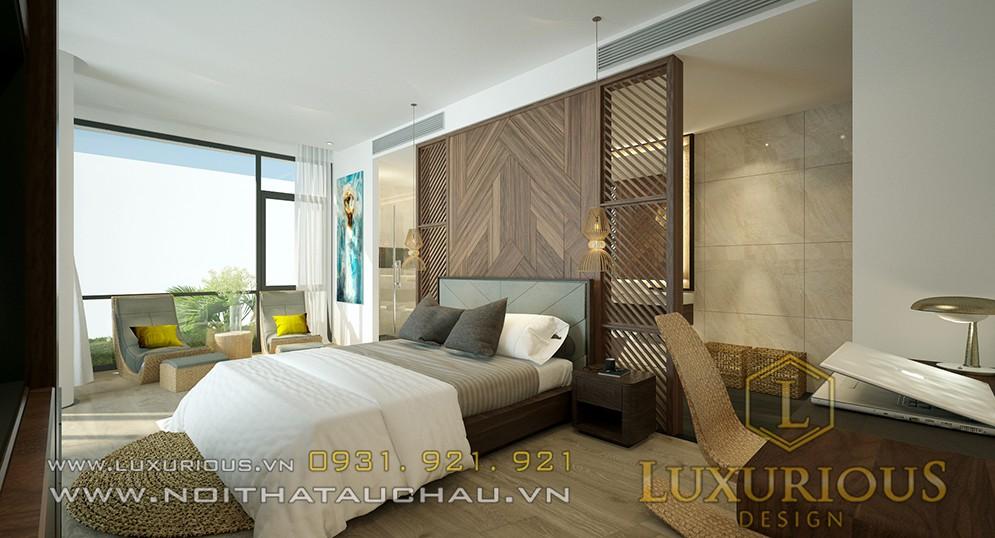 Mẫu phòng ngủ biệt thự đẹp Đà Nẵng