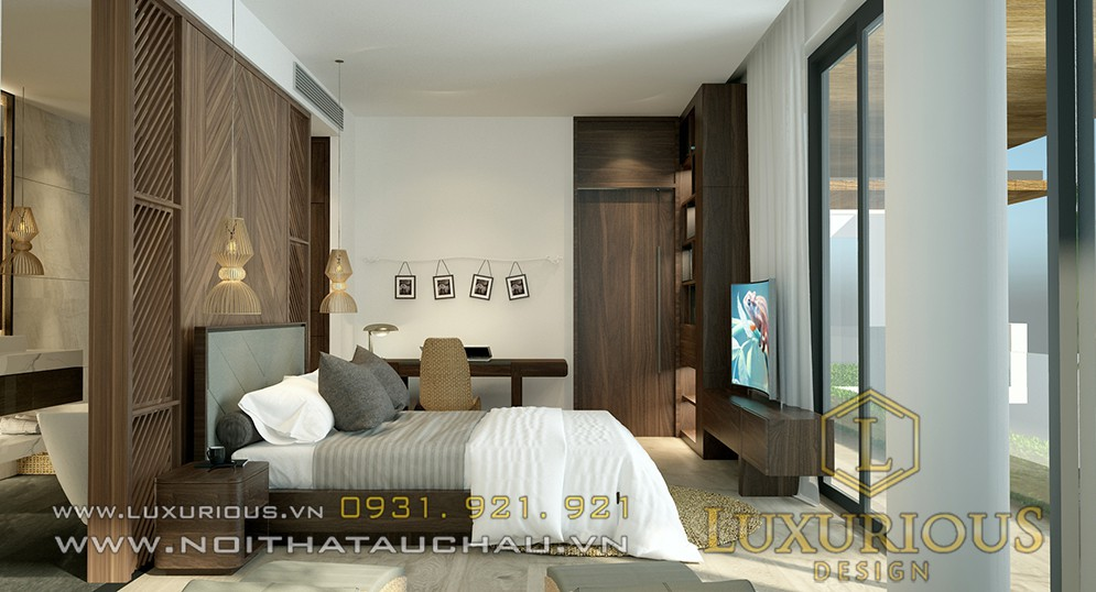 Thiết kế nội thất phòng ngủ đẹp tại Đà Nẵng