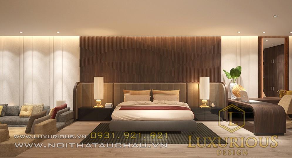 Phòng ngủ biệt thự đẹp tại Đà Nẵng