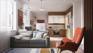 Thiết kế thi công nội thất nhà ở 25m2