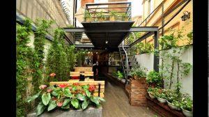 Thiết kế thi công quán cafe sân vườn 6