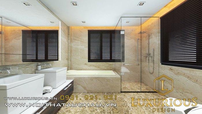 Phòng tắm biệt thự hiện đại