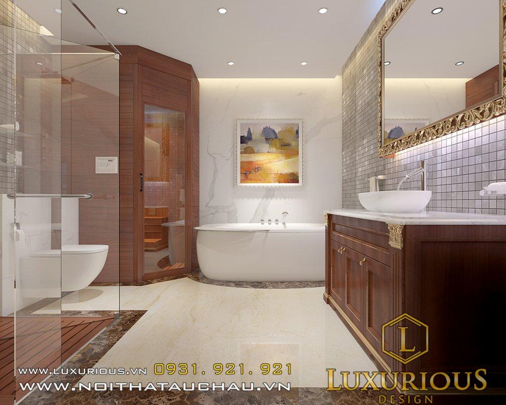 Nhà vệ sinh chung cư golden palm đẹp