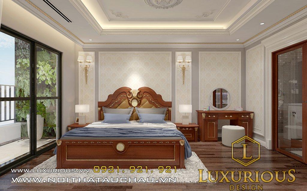 thiết kế chung cư golden palm phòng ngủ master