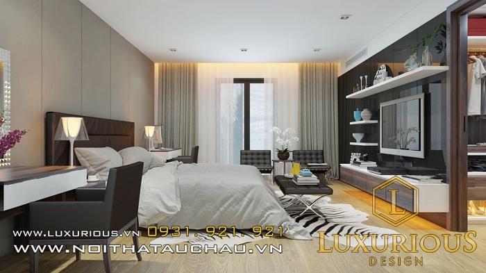 Thiết kế phòng khách nhà cấp 4 3 phòng ngủ