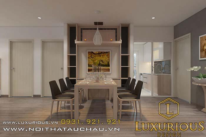 Phòng khách chung cư cao cấp tạo không gian ấm cúng