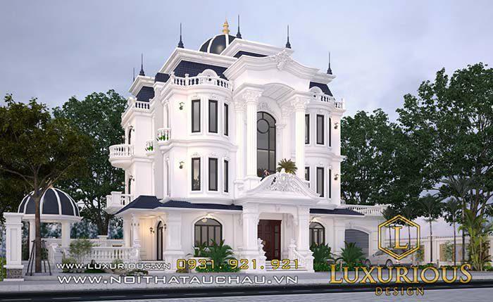 Kiến trúc biệt thự phù hợp phong thủy
