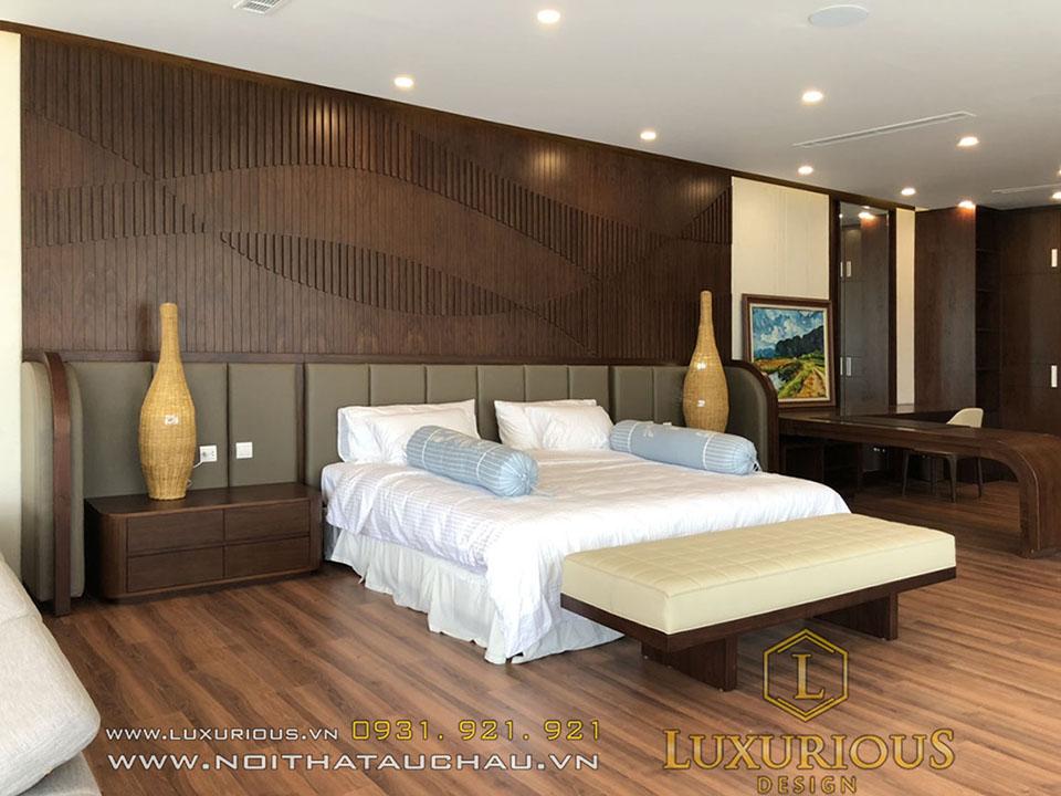 Phòng ngủ biệt thự đẹp đà nẵng