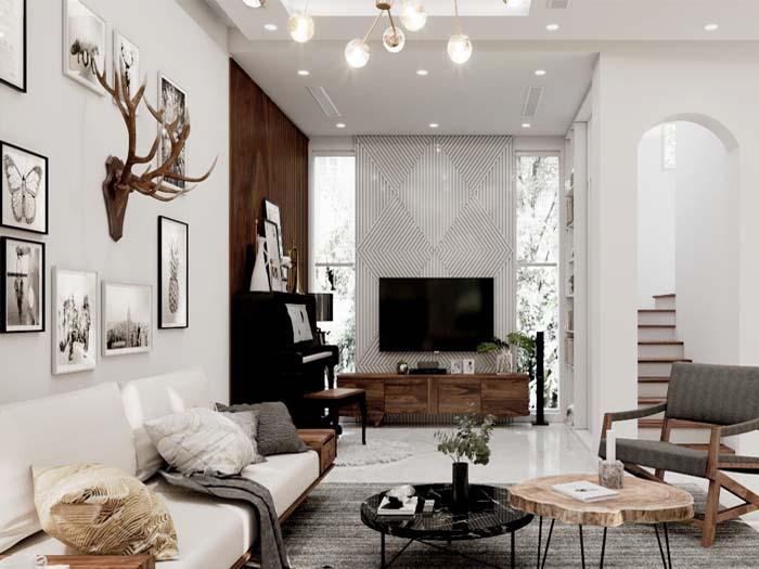 ảnh thiết kế nội thất hiện đại