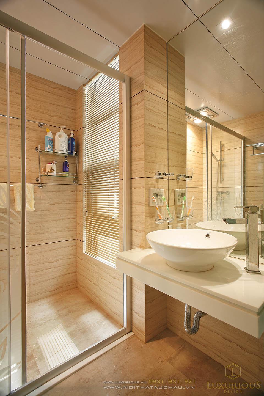 Biệt thự 3 tầng mái thái view nhà vệ sinh