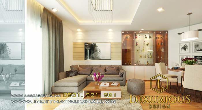 Thiết kế căn hộ mini 20m2 cao cấp