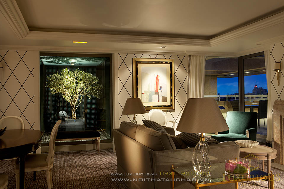 Công ty thiết kế thi công nội thất khách sạn