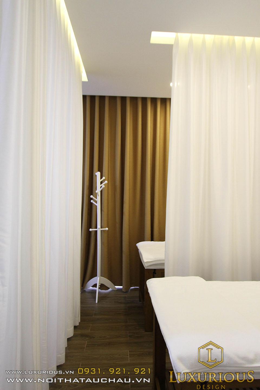 Giường massage thẩm mỹ viện