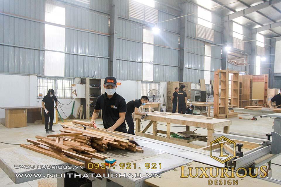 Nhà máy sản xuất Mộc Minh Đức