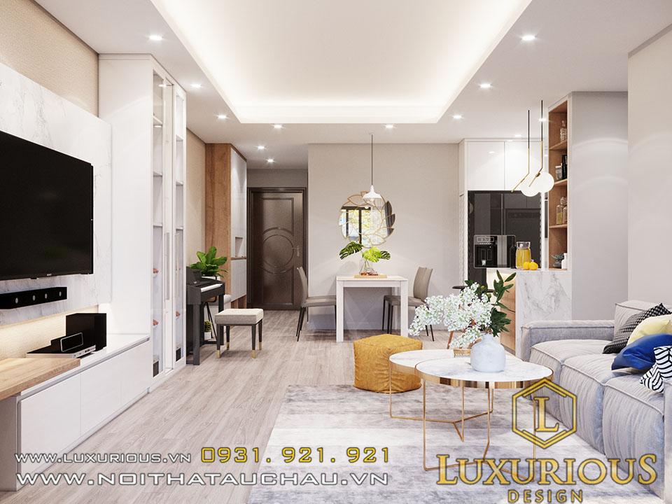 Phòng khách chung cư times city