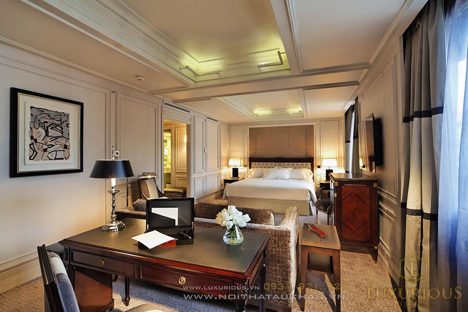 Phòng khách sạn 5 sao cho nguyên thủ