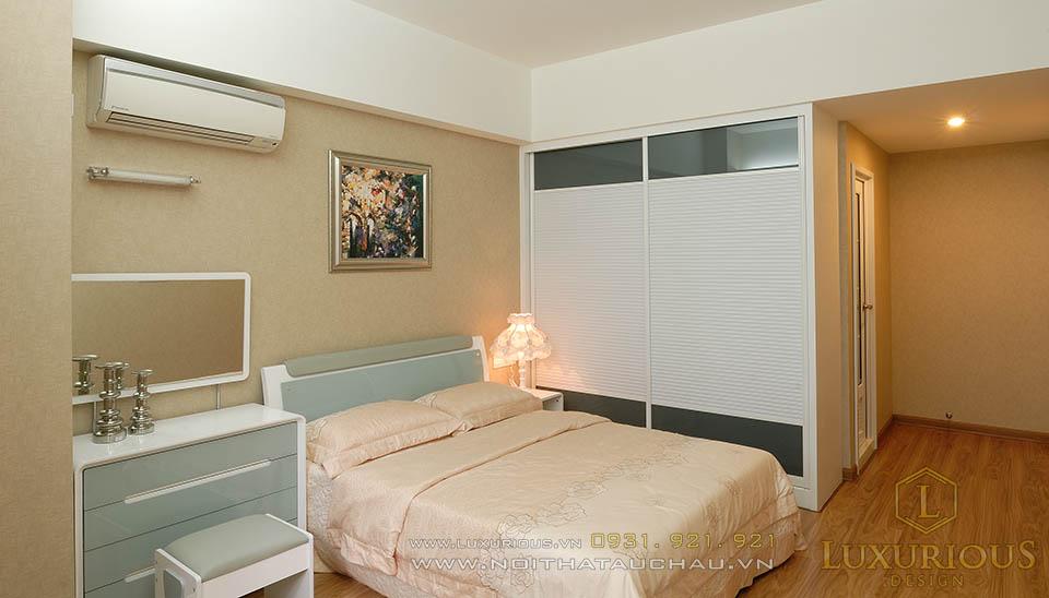 Phòng ngủ chung cư cao cấp