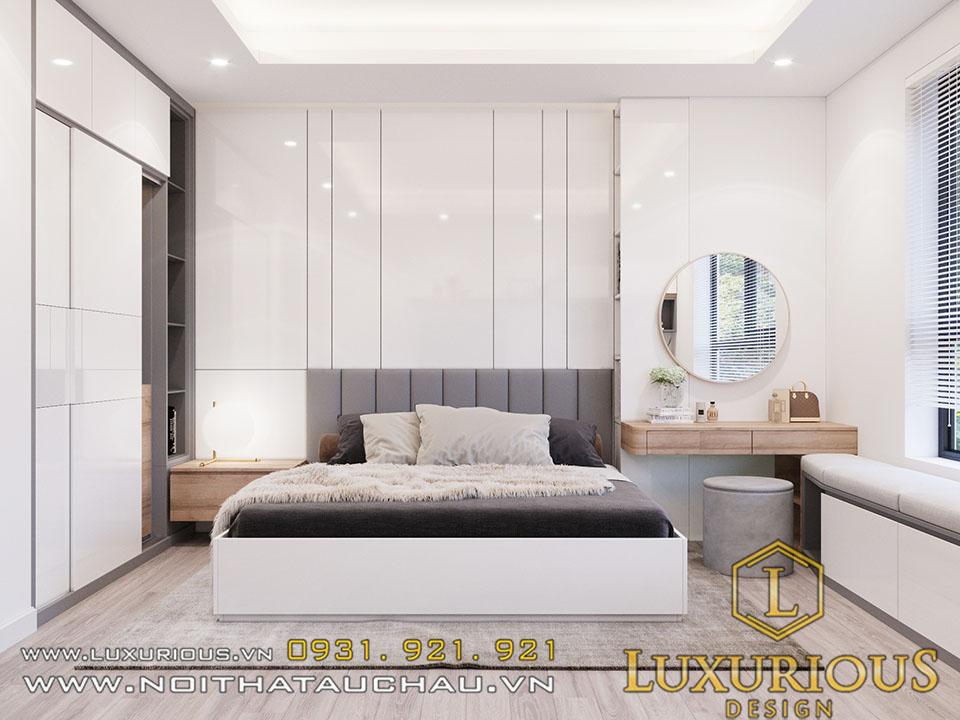 Thiết kế phòng ngủ chung cư theo phong thủy