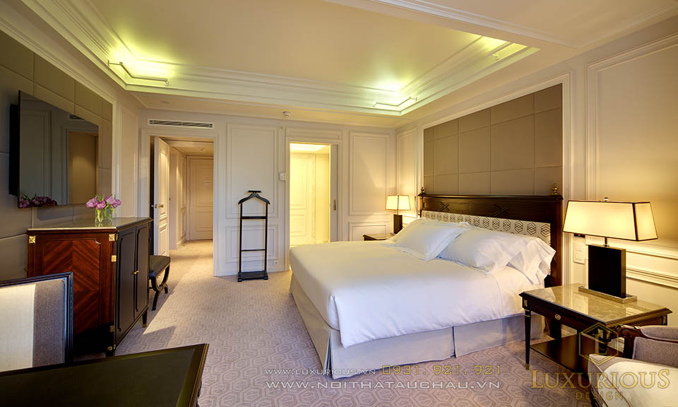 Phòng ngủ khách sạn tân cổ điển