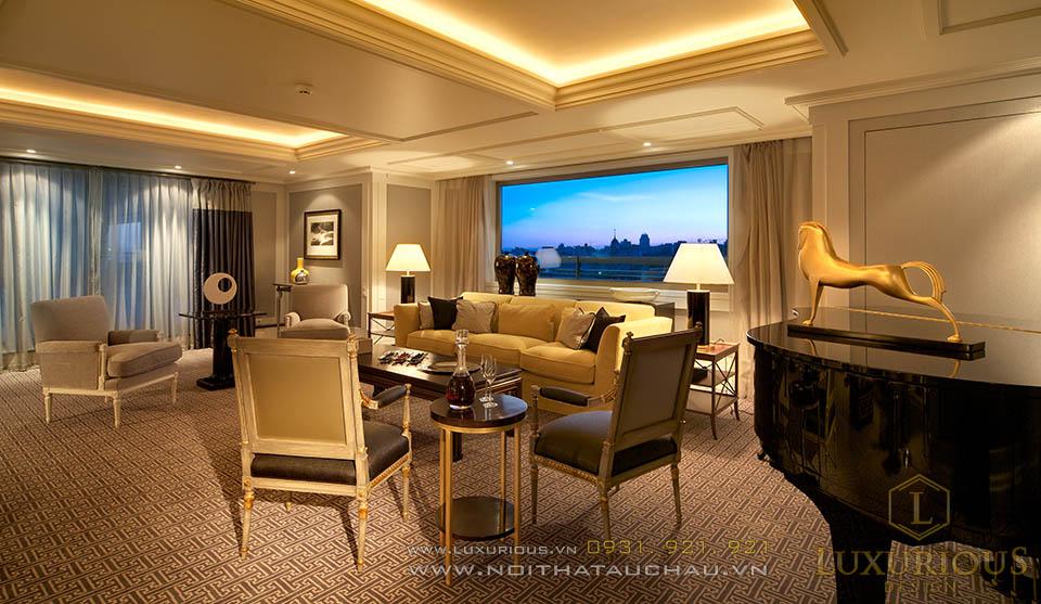 Phòng tiếp khách khách sạn 5 sao
